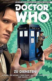 Doctor Who: Der elfte Doctor 2: Zu Diensten! - Klickt hier für die große Abbildung zur Rezension