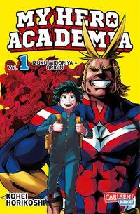 My Hero Academia Band 1 - Klickt hier für die große Abbildung zur Rezension