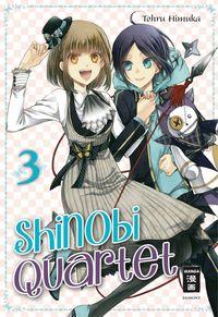 Shinobi Quartet 3 - Klickt hier für die große Abbildung zur Rezension