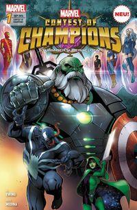 Contest of Champions - Sturm der Superhelden 1 - Klickt hier für die große Abbildung zur Rezension