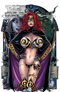 Tarot – Witch of the Black Rose 15:  Im Griff des Todes-Elfs! - Klickt hier für die große Abbildung zur Rezension