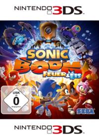 Sonic Boom: Feuer und Eis - Klickt hier für die große Abbildung zur Rezension