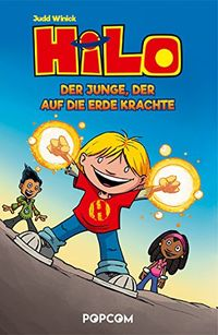 Hilo 01: Der Junge, der auf die Erde krachte - Klickt hier für die große Abbildung zur Rezension