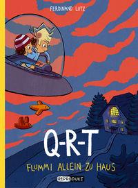 Q-R-T: Flummi allein zu Haus - Klickt hier für die große Abbildung zur Rezension