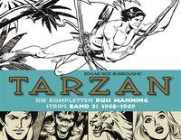 Tarzan - Die kompletten Russ Manning Strips 2: 1968-1969 - Klickt hier für die große Abbildung zur Rezension