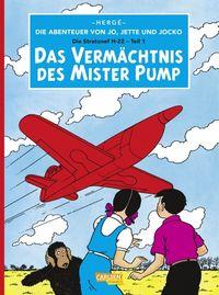 Die Abenteuer von Jo, Jette und Jocko 3: Das Vermächtnis des Mister Pump - Klickt hier für die große Abbildung zur Rezension
