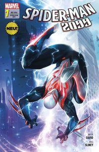 Spider-Man 2099 1: Anschlag aus der Zukunft - Klickt hier für die große Abbildung zur Rezension