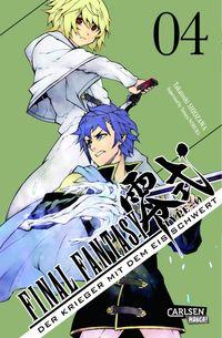 Final Fantasy - Type-0 Band 4: Der Krieger mit dem Eisschwert - Klickt hier für die große Abbildung zur Rezension