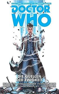 Doctor Who: Der zehnte Doctor 3: Die Quellen der Ewigkeit - Klickt hier für die große Abbildung zur Rezension