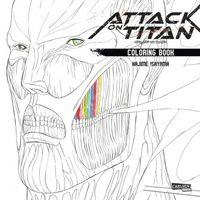 Attack on Titan Coloring Book - Klickt hier für die große Abbildung zur Rezension