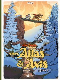 Die Saga von Atlas und Axis Buch 2 - Klickt hier für die große Abbildung zur Rezension