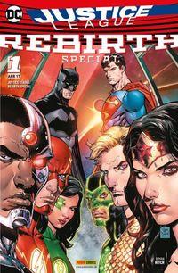 Justice League (Rebirth) 1: Special - Klickt hier für die große Abbildung zur Rezension