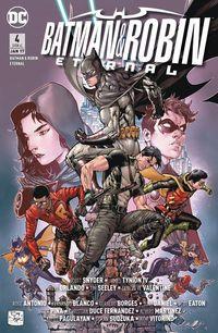 Batman & Robin Eternal Band 4 - Klickt hier für die große Abbildung zur Rezension