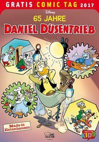 65 Jahre Daniel Düsentrieb - Gratis Comic Tag 2017 - Klickt hier für die große Abbildung zur Rezension