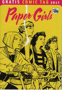Paper Girls - Gratis Comic Tag 2017 - Klickt hier für die große Abbildung zur Rezension