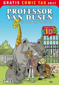Professor van Dusen– Gratis Comic Tag 2017 - Klickt hier für die große Abbildung zur Rezension