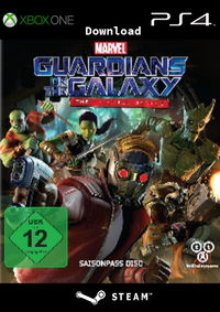 Guardians of the Galaxy - The Telltale Series Episode 1: Tangled up in Blue - Klickt hier für die große Abbildung zur Rezension