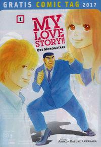 My Love Story!! Ore Monogatari - Gratis Comic Tag 2017 - Klickt hier für die große Abbildung zur Rezension