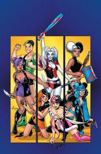 Harley Quinn und die Harley Gang - Klickt hier für die große Abbildung zur Rezension