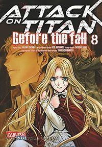 Attack on Titan - Before the Fall 8 - Klickt hier für die große Abbildung zur Rezension