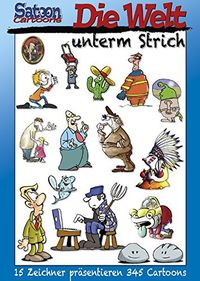 Satoon Cartoons: Die Welt unterm Strich - Klickt hier für die große Abbildung zur Rezension