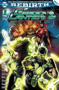 Green Lanters 1:Planet des Zorns - Klickt hier für die große Abbildung zur Rezension