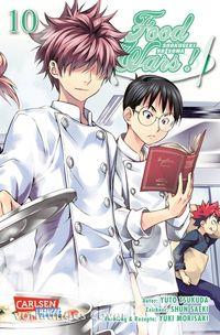 Food Wars! - Shokugeki no Soma 10 - Klickt hier für die große Abbildung zur Rezension