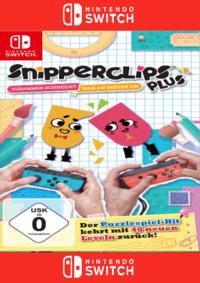 Snipperclips Plus - Zusammen schneidet man am besten ab! - Klickt hier für die große Abbildung zur Rezension