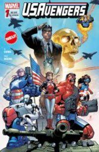 U.S. Avengers 1: Helden, Spione und Eichhörnchen - Klickt hier für die große Abbildung zur Rezension