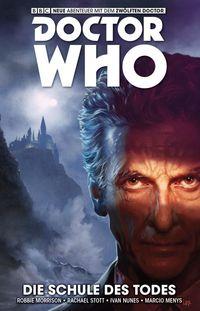 Doctor Who – Der zwölfte Doktor 4: Die Schule des Todes  - Klickt hier für die große Abbildung zur Rezension