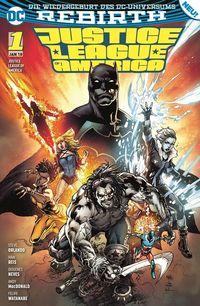 Justice League of America 1: Die Extremists - Klickt hier für die große Abbildung zur Rezension