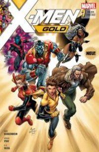 X-Men Gold 1: Ein neuer Morgen - Klickt hier für die große Abbildung zur Rezension