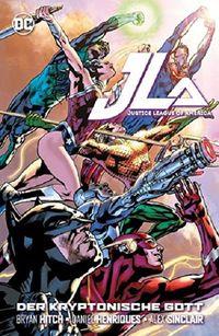 Justice League of America: Der kryptonische Gott - Klickt hier für die große Abbildung zur Rezension