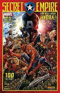 Secret Empire 1: Eine Welt unter Hydra  - Klickt hier für die große Abbildung zur Rezension