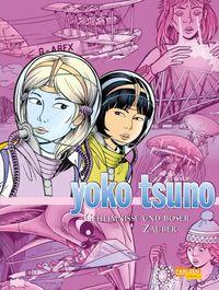 Yoko Tsuno Sammelband 9: Geheimnisse und böser Zauber - Klickt hier für die große Abbildung zur Rezension