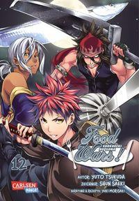 Food Wars! - Shokugeki no Soma 4 - Klickt hier für die große Abbildung zur Rezension