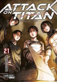 Attack on Titan 21 - Klickt hier für die große Abbildung zur Rezension