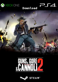 Guns, Gore & Cannoli 2 - Klickt hier für die große Abbildung zur Rezension