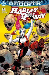 Harley Quinn (Rebirth) 5: Familienbande  - Klickt hier für die große Abbildung zur Rezension