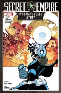 Secret Empire Sonderband 2: Inhumans gegen Hydra - Klickt hier für die große Abbildung zur Rezension