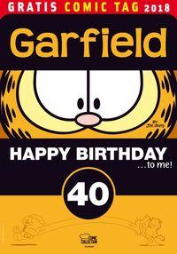 Garfield: Happy Birthday to me – Gratis Comic Tag 2018 - Klickt hier für die große Abbildung zur Rezension