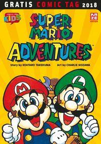 Super Mario Adventures - Gratis Comic Tag 2018 - Klickt hier für die große Abbildung zur Rezension