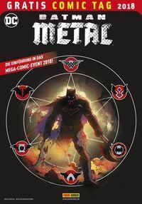 Batman Metal – Gratis Comic Tag 2018 - Klickt hier für die große Abbildung zur Rezension