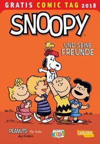 Snoopy und seine Freunde - Gratis Comic Tag 2018 - Klickt hier für die große Abbildung zur Rezension