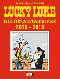 Lucky Luke Gesamtausgabe 2016 - 2018 - Klickt hier für die große Abbildung zur Rezension
