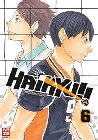 Haikyu!! 6 - Klickt hier für die große Abbildung zur Rezension