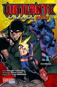 Vigilante – My Hero Academia Illegals 1 - Klickt hier für die große Abbildung zur Rezension