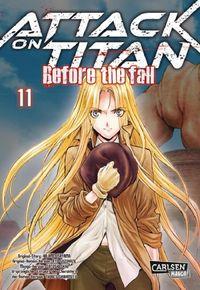 Attack on Titan – Before the Fall 11 - Klickt hier für die große Abbildung zur Rezension