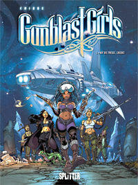Gunblast Girls 1: Auf die Fresse, Lusche! - Klickt hier für die große Abbildung zur Rezension