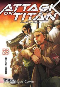 Attack on Titan 23 - Klickt hier für die große Abbildung zur Rezension